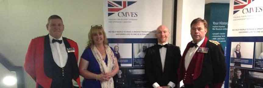 CMVES unveil new brand at the North West Armed Forces Business Awards 2015